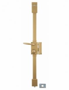 Serrure en applique bronze CR TRANSIT 2 à fouillot 75 x 130 mm droite 4 clés 00060110