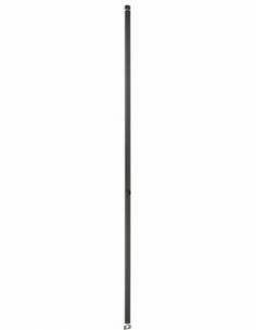 BOITIER CRÉMONE 2 POINTS à cylindre profilé hauteur 2300 noir 00061214