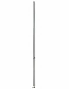 BOITIER CRÉMONE 2 POINTS à cylindre profilé hauteur 1600 argent 00061233