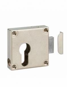 Boîtier Serrure de meuble univelselle à cylindre profilé 00107495