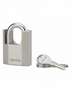 Cadenas octo-p 60mm anse protégée acier 3 clés 00090058