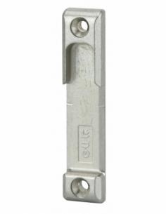 Gâche galet en applique Réversible Compatible avec la Serrure à encastrer : SECURY - EUROPA - FERCOMATIC Dimensions : 80 x 17...