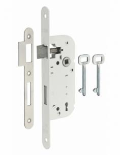 Serrure à encastrer 3 gorges V/BR 2 clés 00401103