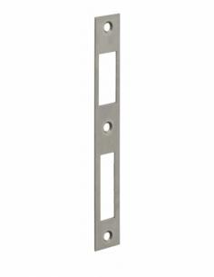 GACHE plate inox coffre réduit 160x22x1,5 mm 00014100