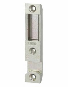 Gâche centrale à encastrer Réversible Compatible avec la Serrure à encastrer : DECENA Dimensions : 90 x 18 x 9 mm 00077018