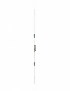 Serrure à encastrer à encastrer FERCOMATIC R4 (3 pêne latéraux) - 5 points - Carré de 7 mm - Têtière : 16 mm - Hauteur poigné...