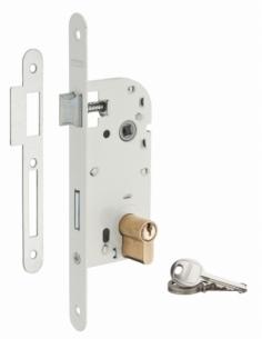 Serrure à encastrer V/BR 3 clés 00401104