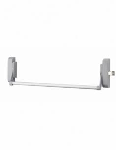 Serrure en applique ANTIPANIQUE 1 point latéral réversible laqué gris porte maxi 1150 mm 00009603