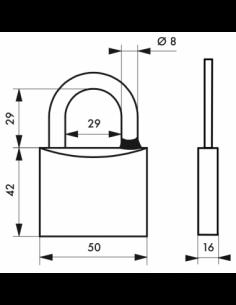 Cadenas MACH 3 • 50 mm 00194517
