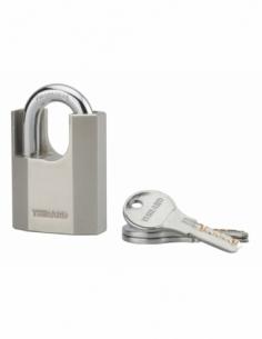 Cadenas OCTO-P 50mm Cadenas Anse protégée acier 3 clés 00290057