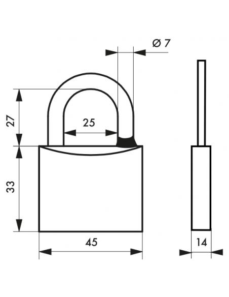 Cadenas Type 1 • 45 mm 00980145