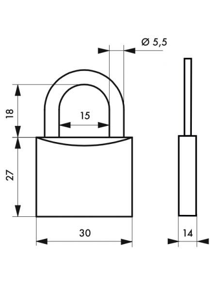 Cadenas Ch'Tiote Meuh 8 • 30 mm 00109008
