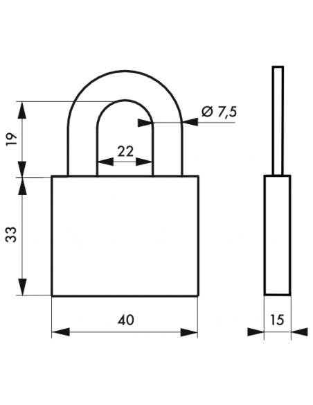 Cadenas 510 • 40 mm 00202510