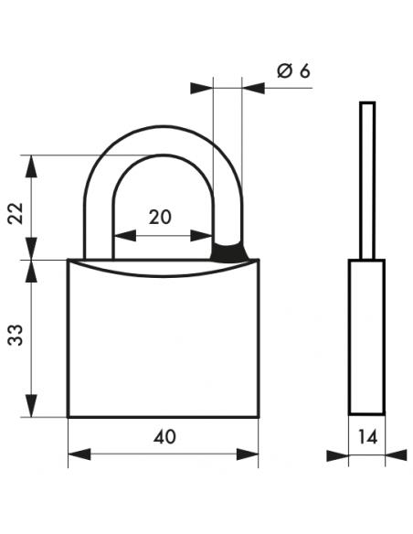 Cadenas Type 1 • 40 mm 00080140