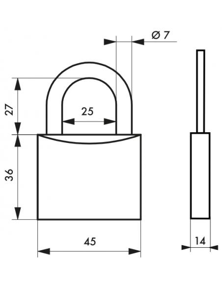 Cadenas MACH 2 • 45 mm 00163451