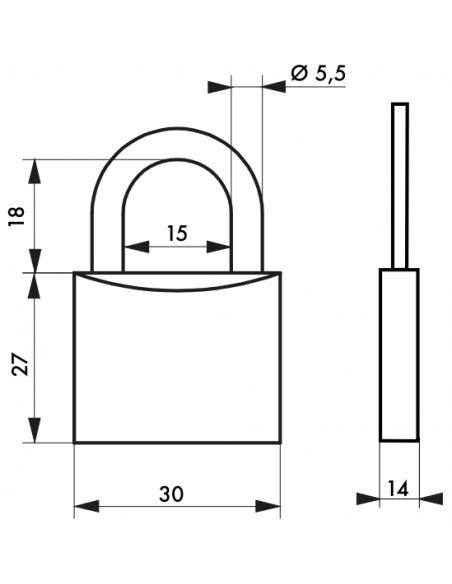 Cadenas Type 1 • 30 mm 00980030