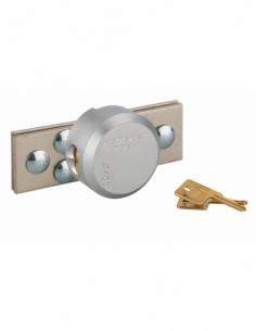 KIT PORTE-CADENAS + CADENAS Ø 73 mm 2 clés 00040350