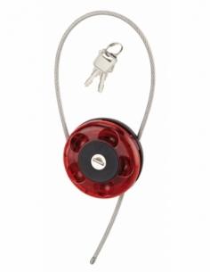 Câble enrouleur ROLLER long. 0,75 m 2 clés 00871002