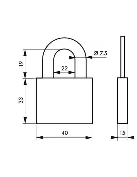 Cadenas 510 • 40 mm 00002510