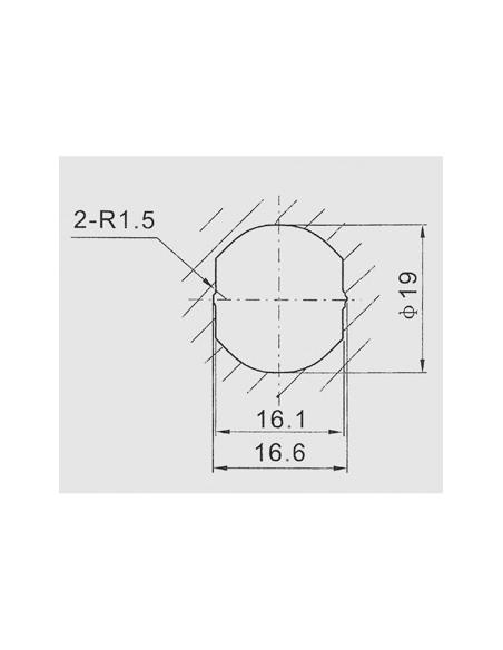 Batteuse avec cames pour ép. maxi 12 mm 00917900