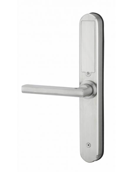 Poignée électronique INTELOCK multi - Entr'axe 70mm - Finition Silver 00078921