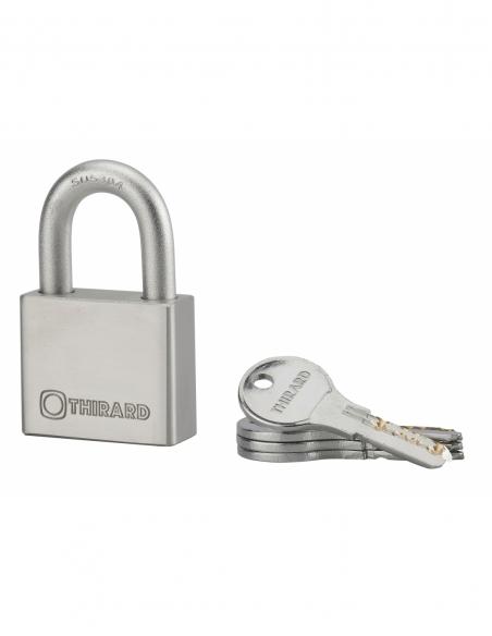 Cadenas rinox 50mm anse inox 4 clés 00090065