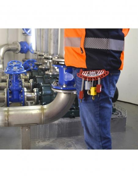 Ratelier portatif nylon pour 12 cadenas 00091247