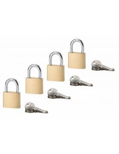 Set 4 cadenas type 1+ 30 mm 12 clés 00288038