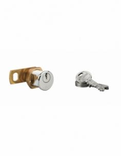 Batteuse laiton chromé 3 clés laiton 00028313