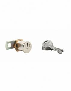 Batteuse HG6 chromée 3 clés laiton nickelé 00028315
