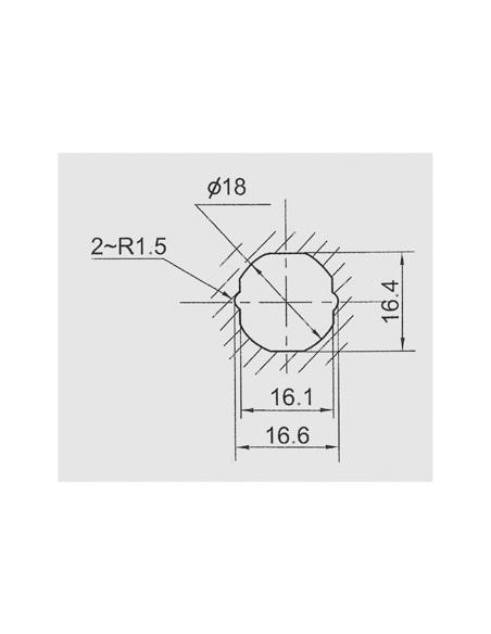 Batteuse avec came pour ép. maxi 12 mm 00117906