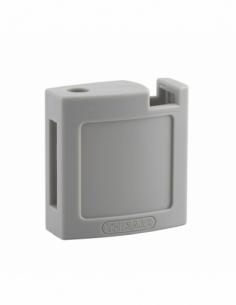 Ensemble coque ABS AV + AR grise pour Cadenas de Consignation M3 - 40 mm 00084713
