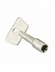 Clé triangle 9 mm laiton 00013923