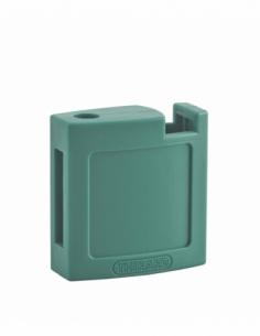 Ensemble coque ABS AV + AR orange pour Cadenas de Consignation M3 - 40 mm 00084717
