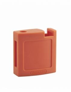 Ensemble coque ABS AV + AR orange pour Cadenas de Consignation M3 - 40 mm 00084715
