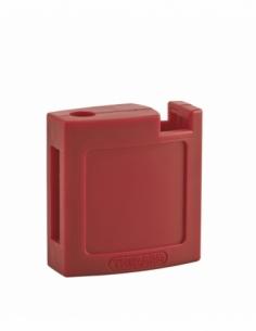 Ensemble coque ABS AV + AR rouge pour Cadenas de Consignation M3 - 40 mm 00084714