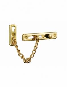 CHAINE DE SECURITE GM dorée 00209409