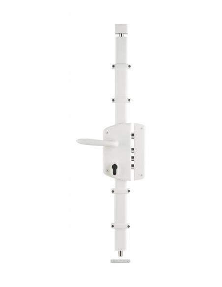 BOITIER de Serrure en applique MELISSA blanche à fouillot 85 x 174 mm droite 00750830