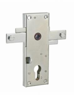 Boitier vertical à cylindre profilé carré 8 mm 2 points latéraux 00096562