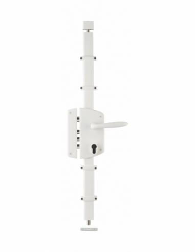 BOITIER de Serrure en applique MELISSA blanche à fouillot 85 x 174 mm gauche 00750831