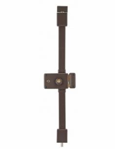 Serrure en applique HORGA marron CR HG5 à fouillot 140 x 88 mm drte 4 clés 00037316