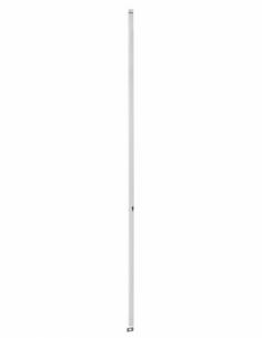 BOITIER CRÉMONE 2 POINTS à cylindre profilé hauteur 3000 blanc 00061221