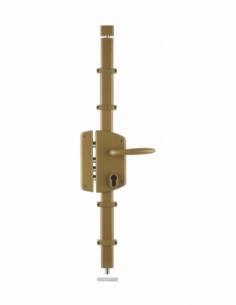 BOITIER de Serrure en applique MELISSA or à fouillot 85 x 174 mm gauche 00050841