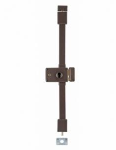 BOITIER DE Serrure en applique HORGA marron à fouillot 140 x 88 mm droite 00047316
