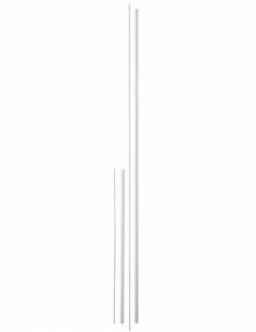 KIT RALLONGE haut - bas laqué blanc pour porte hauteur 3,00 m maxi 00009513