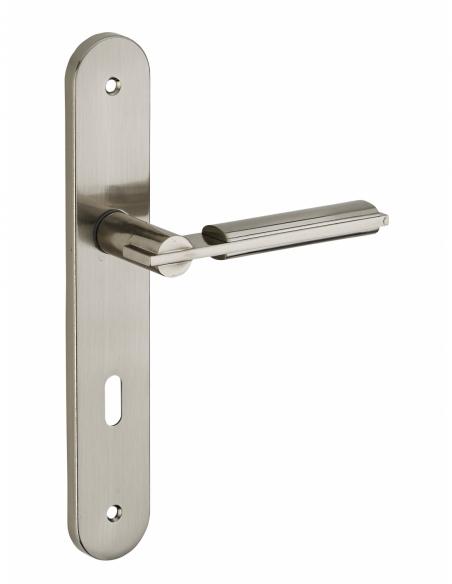 Poignée de porte intérieure Gaia trou de clé 00543402