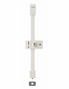 Serrure en applique HORGA blanche CP TRANSIT 2 à fouillot 140 x 88 mm gche 4 clés 00758326