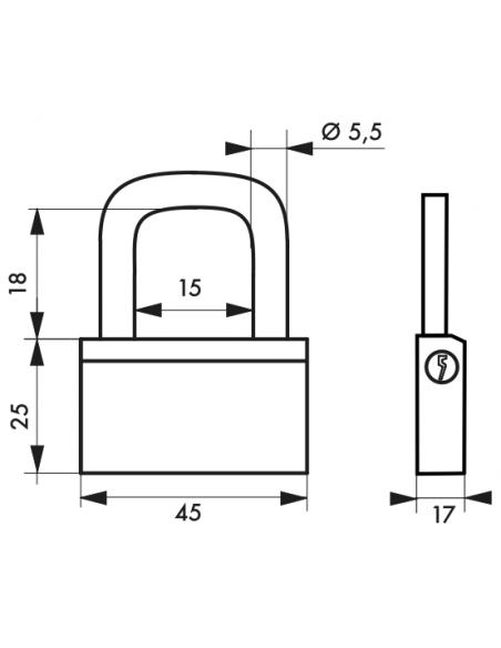 Cadenas NAUTIC 45 mm 00168451