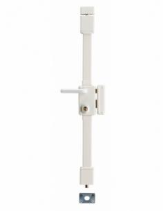 Serrure en applique BELUGA blanche CR TRANSIT 2 à fouillot 75 x 130 drte 4 clés 00769511