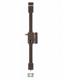 BOITIER de Serrure en applique BELUGA CP marron à tirage 75 x 130 mm droite 00049410
